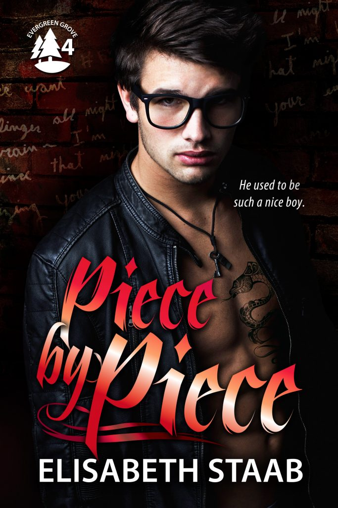 Piece by Piece ebook cover. Image by MaeIDesigns. Cover design by Babski Creative Studios.